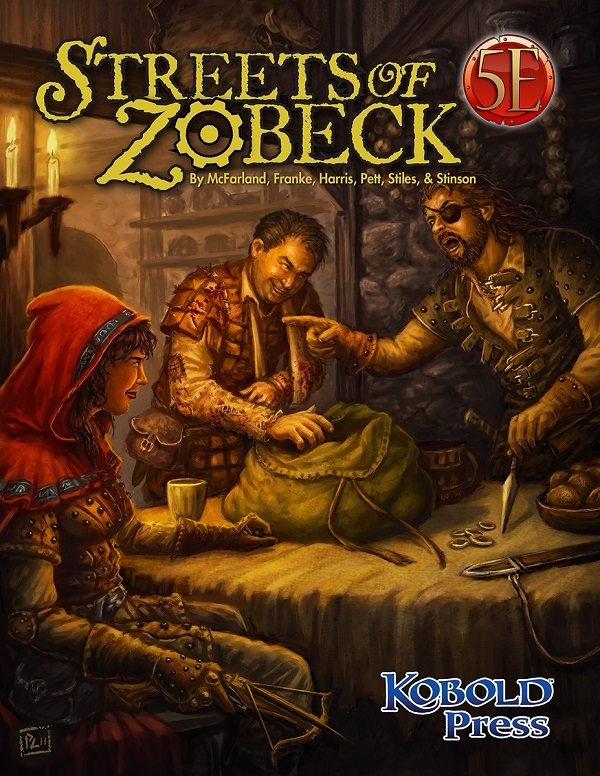 Streets of Zobeck for 5th Edition Now Available