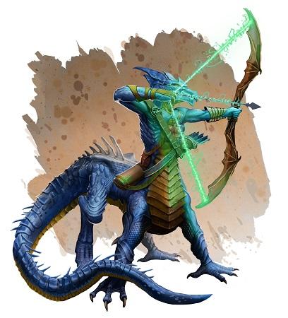 Terrors of the Dragon Empire: Dracotaur