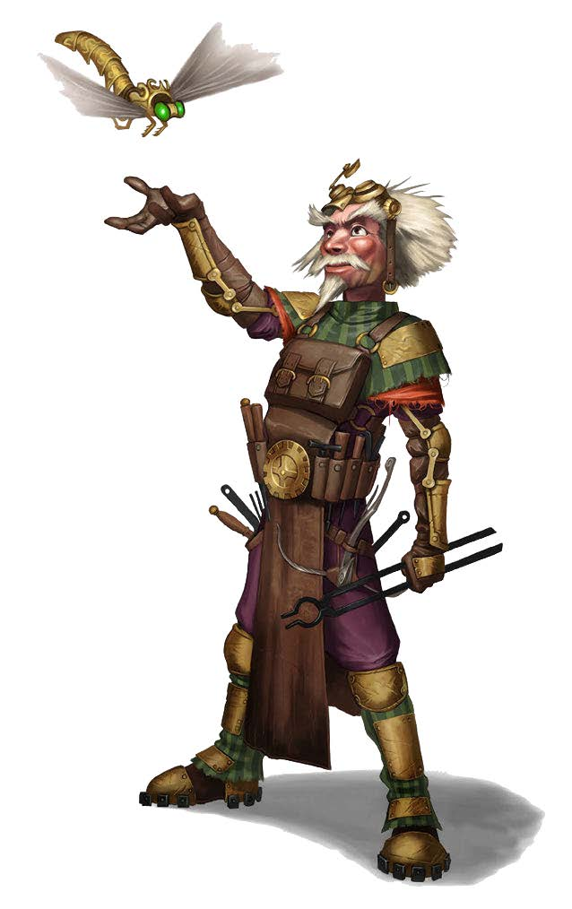 New Paths Compendium Hardcover Preview: Tinkerer