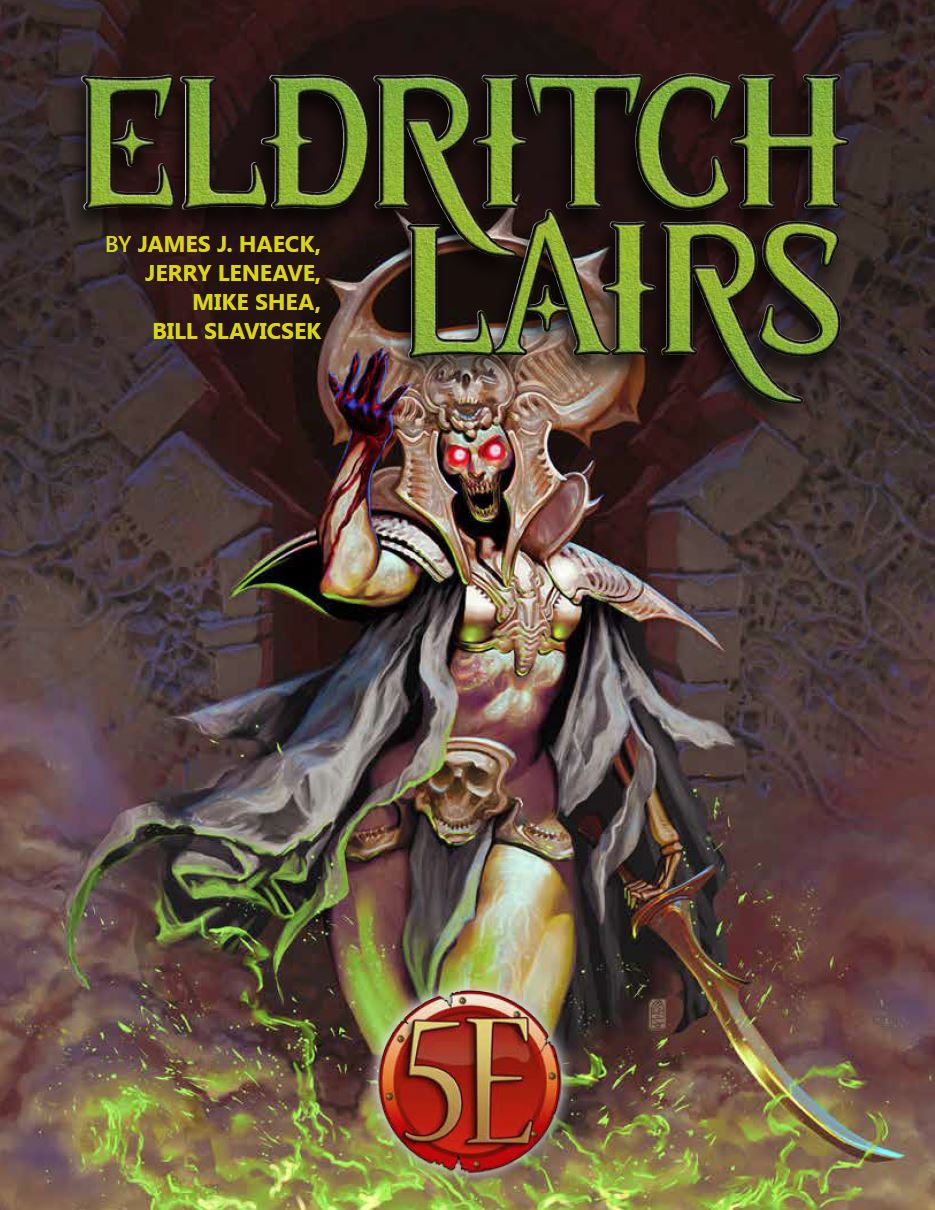 New Release: Eldritch Lairs