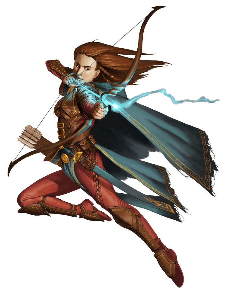 New Paths Compendium Hardcover Preview: Mystic Archer