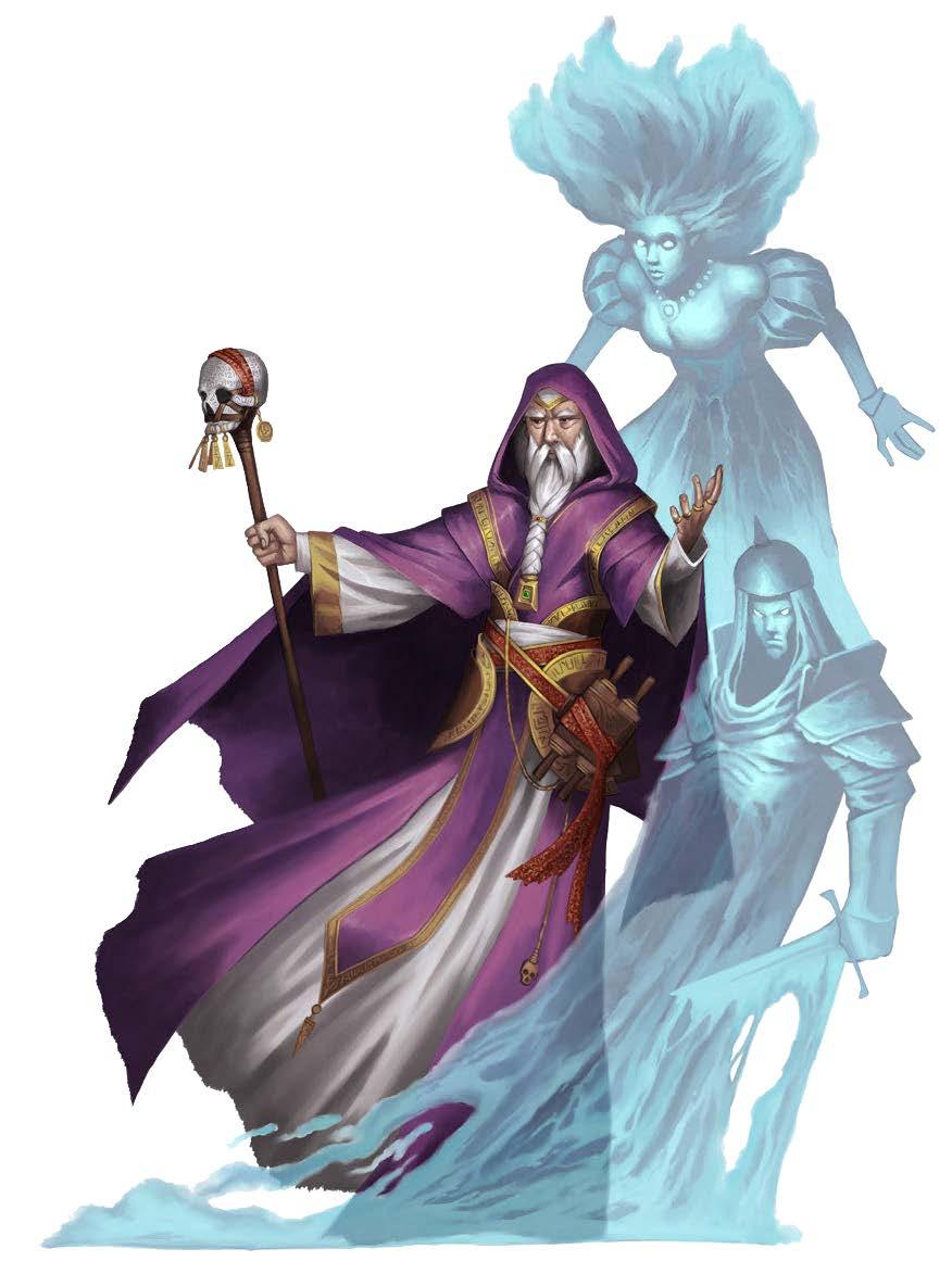 New Paths Compendium Hardcover Preview: White Necromancer