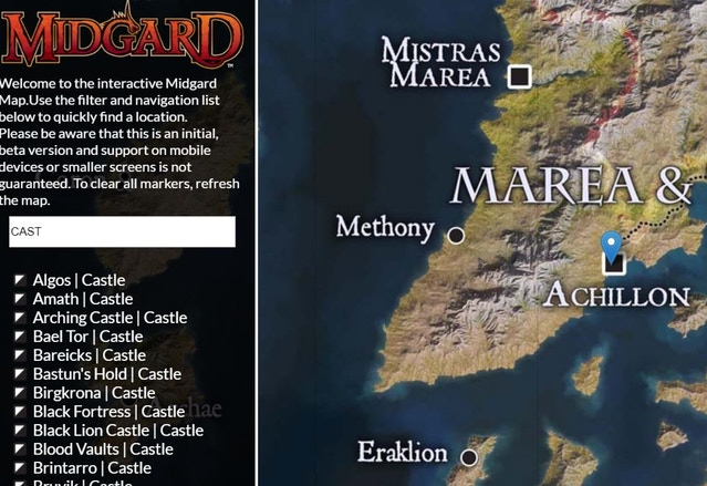 Midgard Digital Map Release
