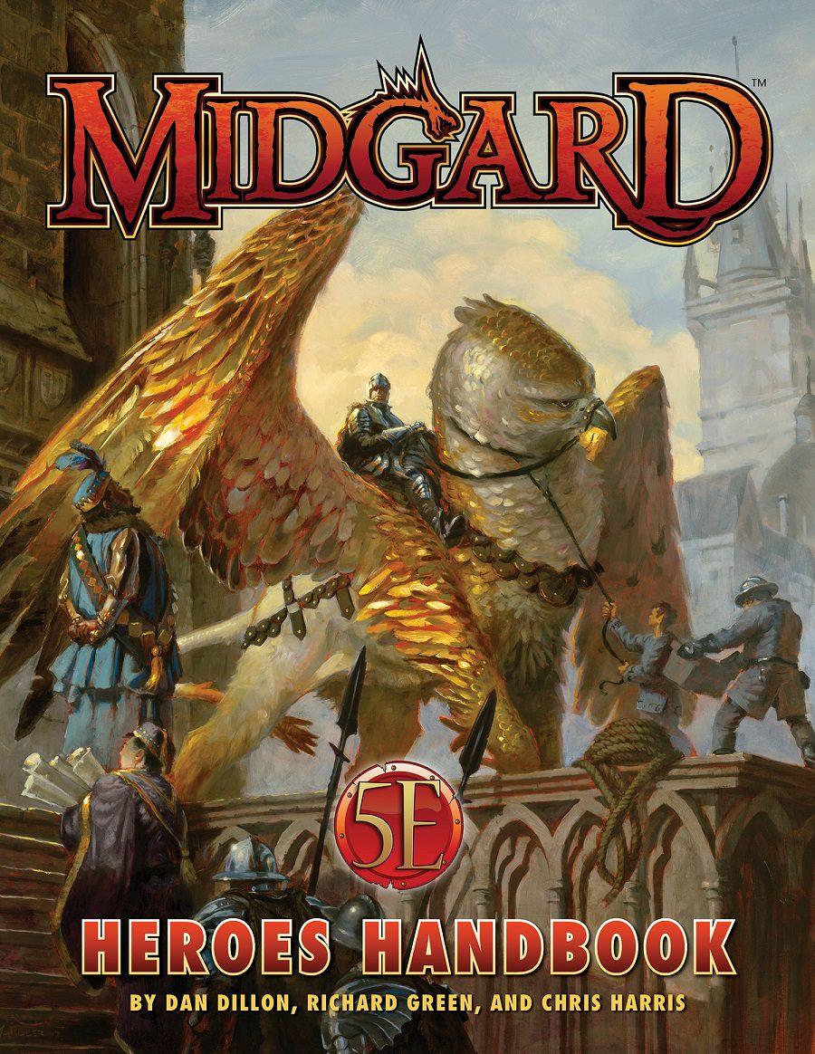 Midgard Heroes Handbook for 5th Edition | Kobold Press