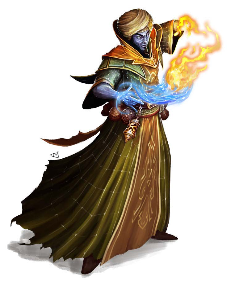 Welcome To Midgard The Genie Lord Kobold Press If the expended slot was of 4th level or higher, the new slot is 3rd level. welcome to midgard the genie lord