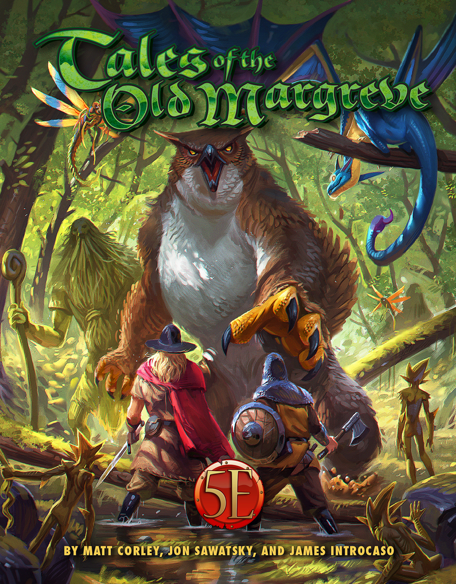 Tales of the Old Margreve Pre-Order