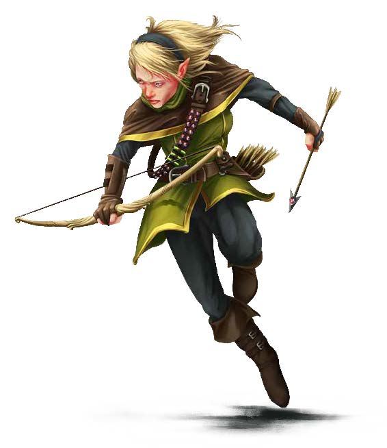 Creature Codex: Alchemist Archer (Elf)