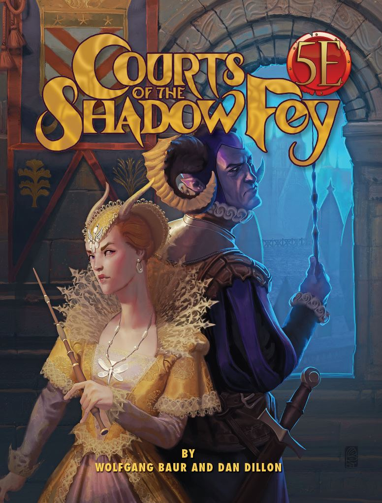 Now Available: Courts of the Shadow Fey for 5th Edition
