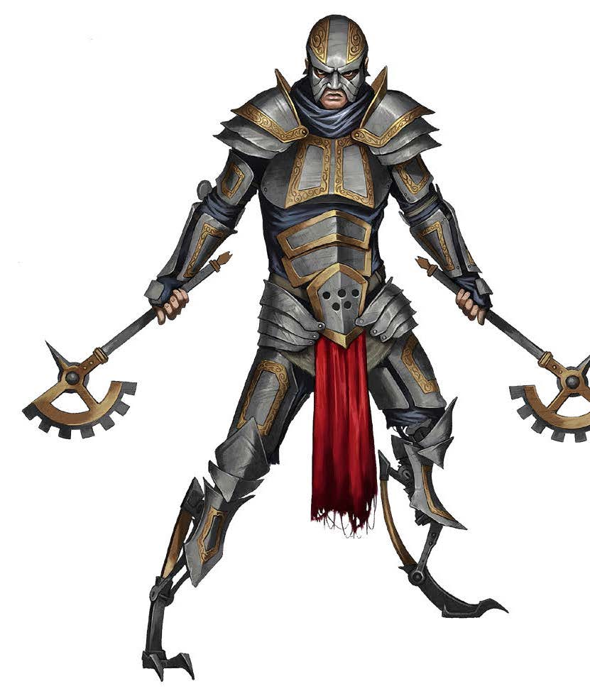 Midgard Heroes: Clanking Mercenary