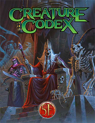 Creature Codex Nominated for ENnie