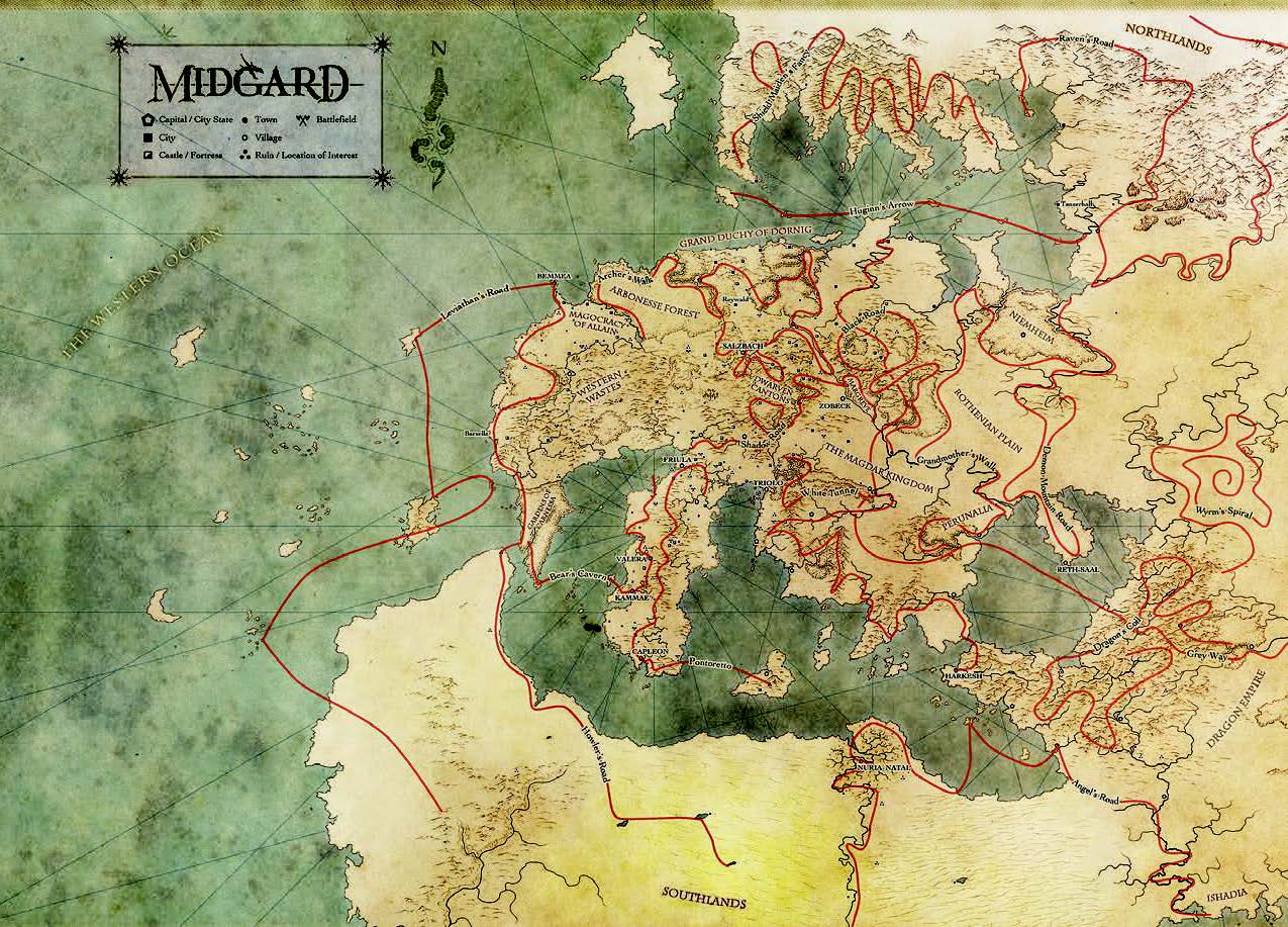 Midgard Ley Magic: Expanded Ley Line Effects