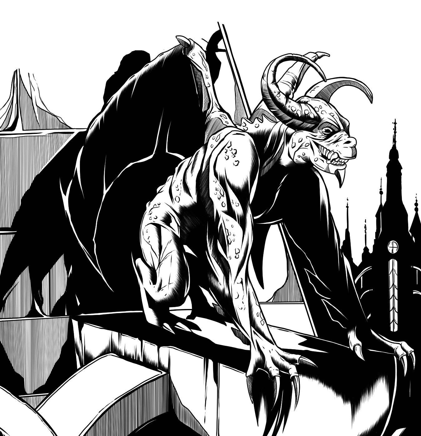 Warlock's Apprentice: The Bloodstone Gargoyle of Bratislor Pass