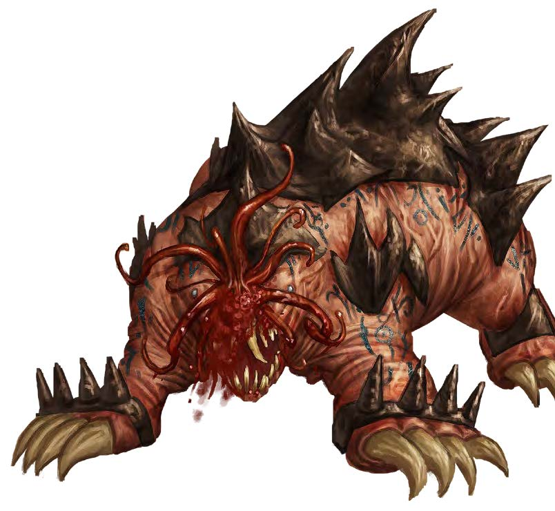 Tome of Beasts: Dogmole Juggernaut