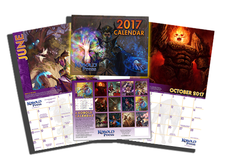 April 2017 Kobold Press Calendar Wallpapers